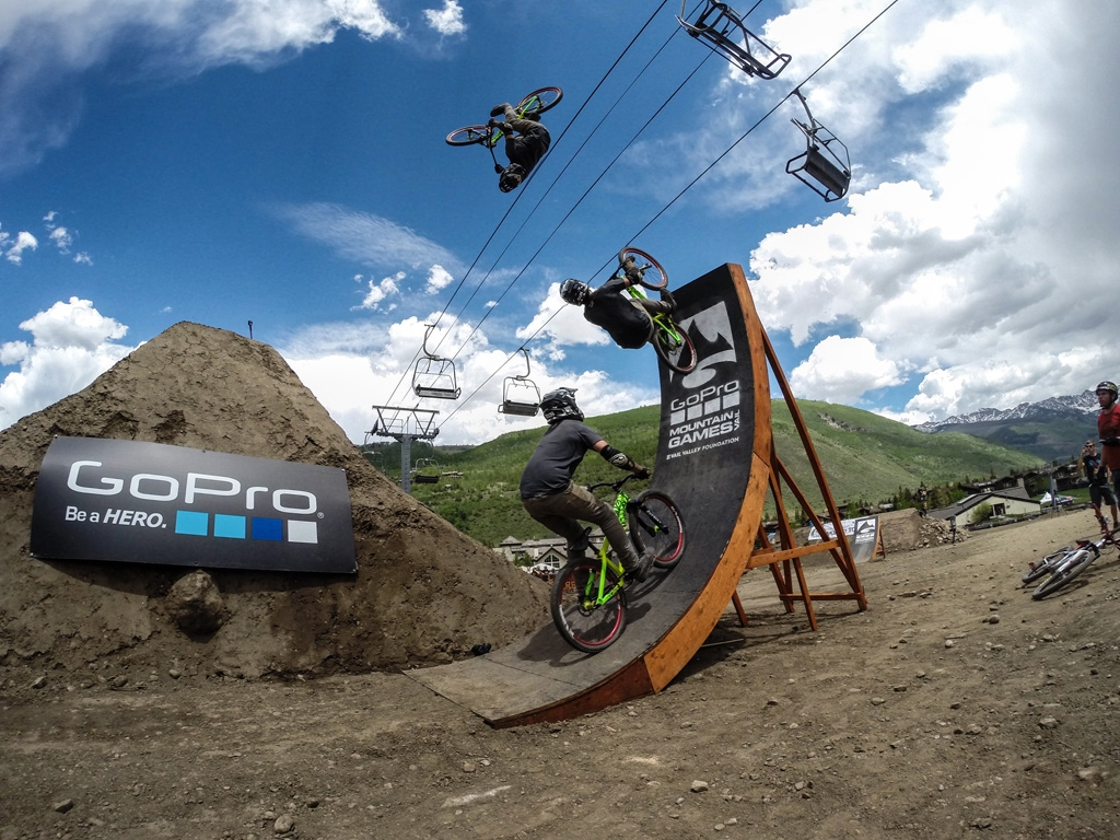 Garrett Robertson is going to Red Bull District Ride!